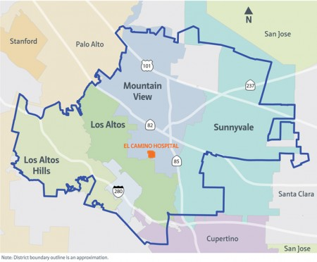 El Camino Healthcare District Map